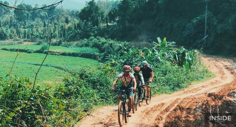 Phong Nha countryside cycling tour full day