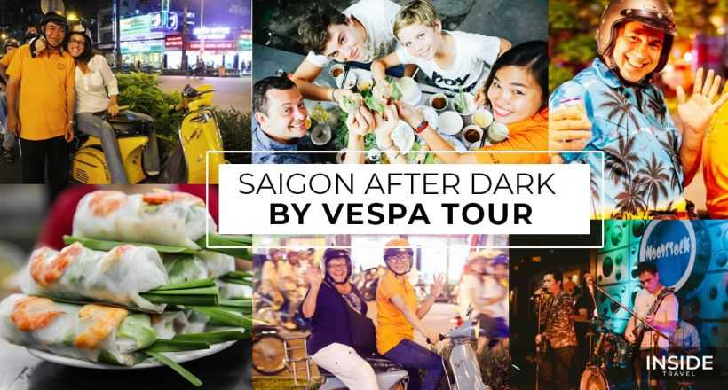 Sai Gon Vespa Tours by night