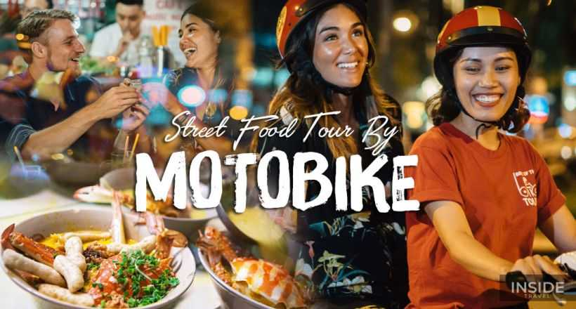 Evening Street Food Motorbike in Ho Chi Minh - SIC Tour