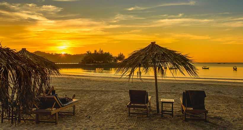 Serene gateway of Ngapali beach