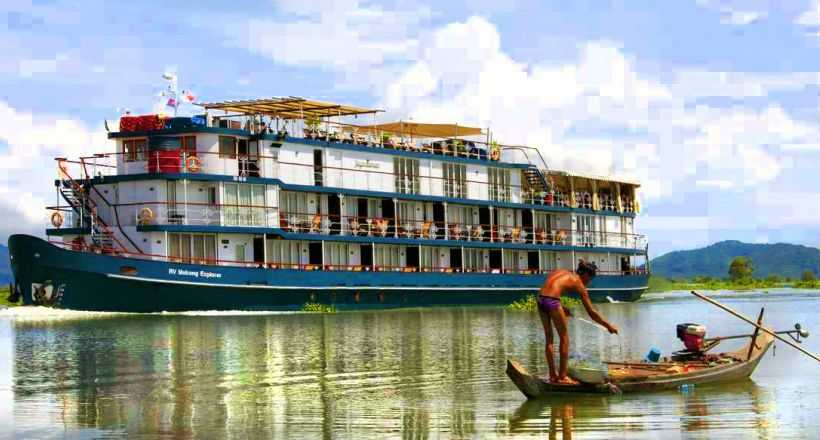 Discover Treasures of Mekong with RV Jayavarman Cruise