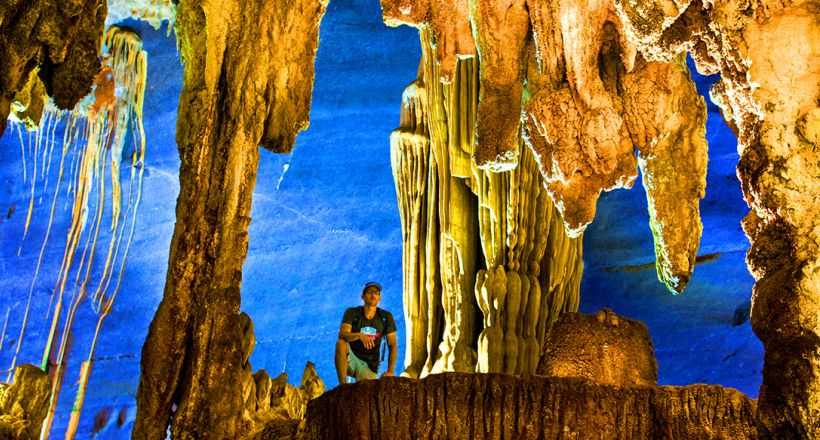 Vietnam's astonishing caves and tranquil scenery