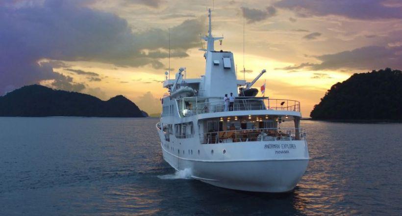 Upstream Burma Coastal Voyage