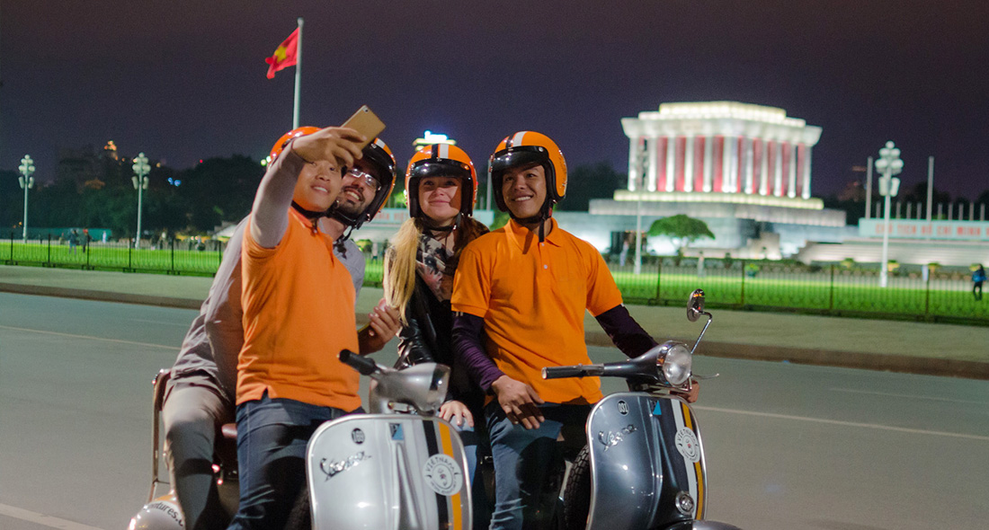 Hanoi private motorbike tour