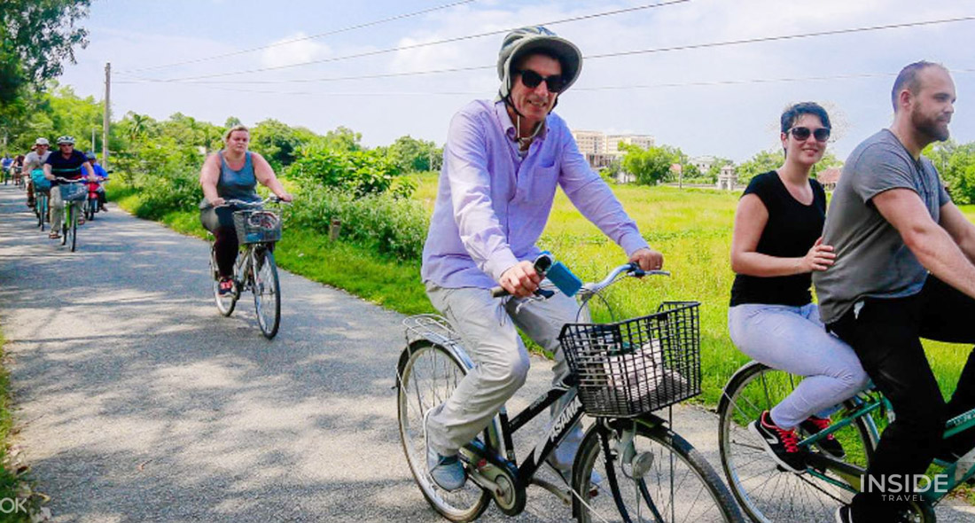Explore Thuy Bieu Eco-Village by bicycle and boat