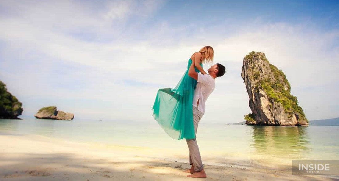Romantic honeymoon on Vietnam beaches
