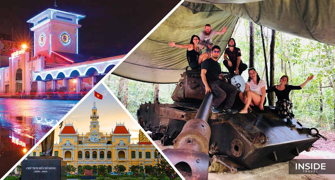 Ho Chi Minh city & Cu Chi Tunnels full day