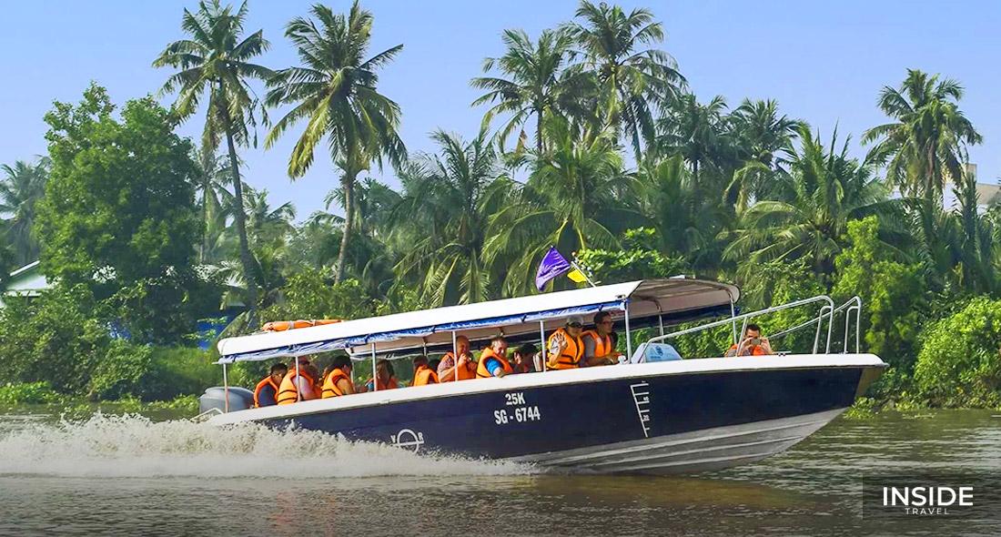 Cu Chi Tunnels Half day by luxury speedboat - SIC tour