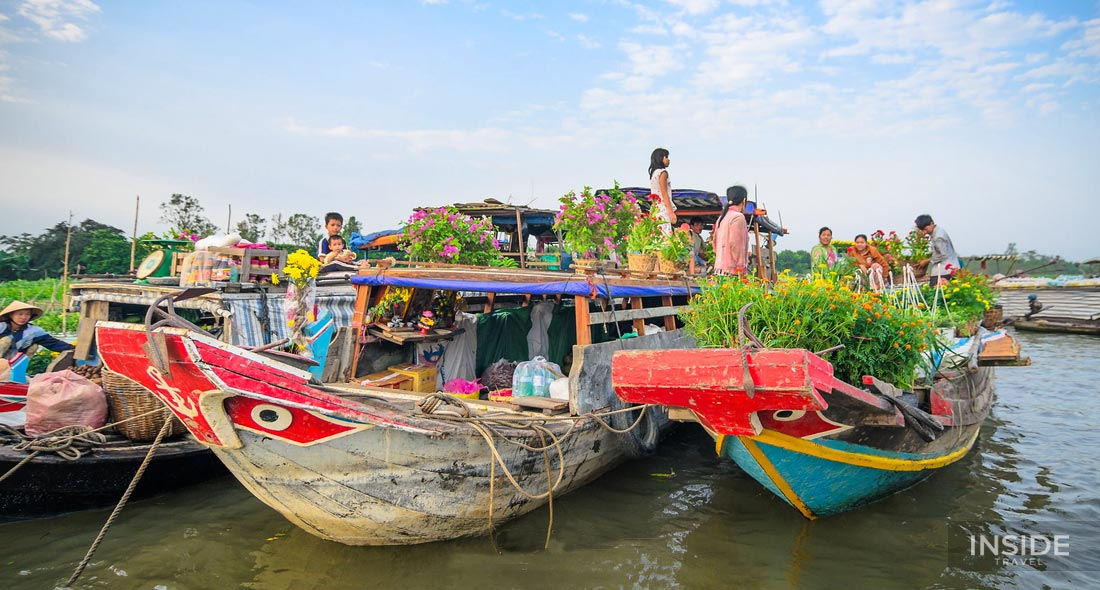 Discover Cai Be Floating Market and An Binh Island