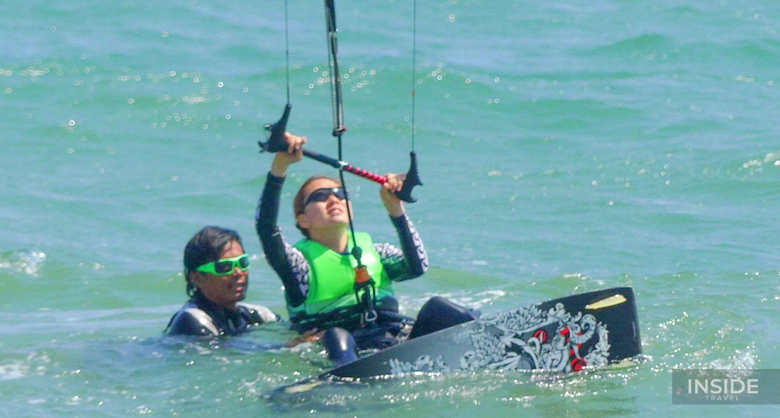 Experience 02-hour Lession of Kitesurfing in Mui Ne