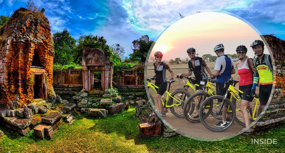Biking from Phnom Penh to Kampot