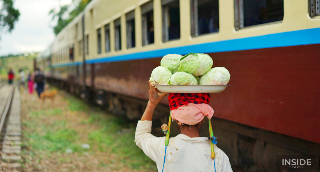 Fantastic train to Inle Lake