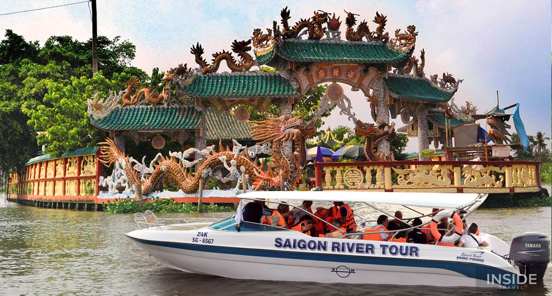Dragon Floating Temples Sightseeing by Luxury Speedboat - SIC tour