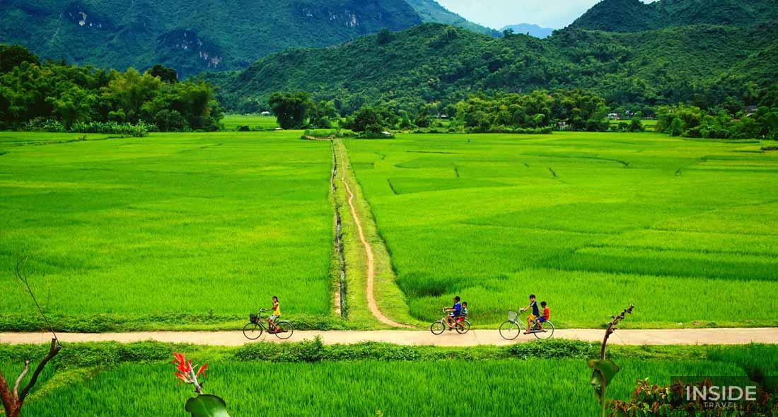 Peaceful Mai Chau Valley