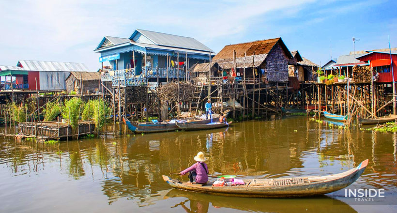 Excursion to Kompong Phluk Floating Village