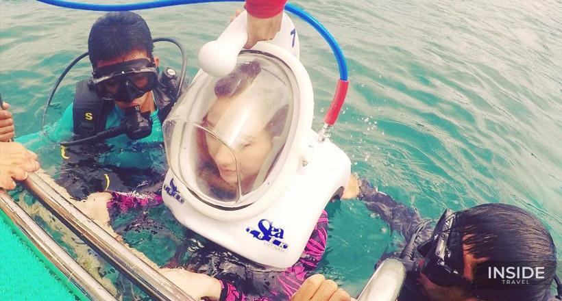 Amazing Experience Walking Underwater  - Cham Island Join tour