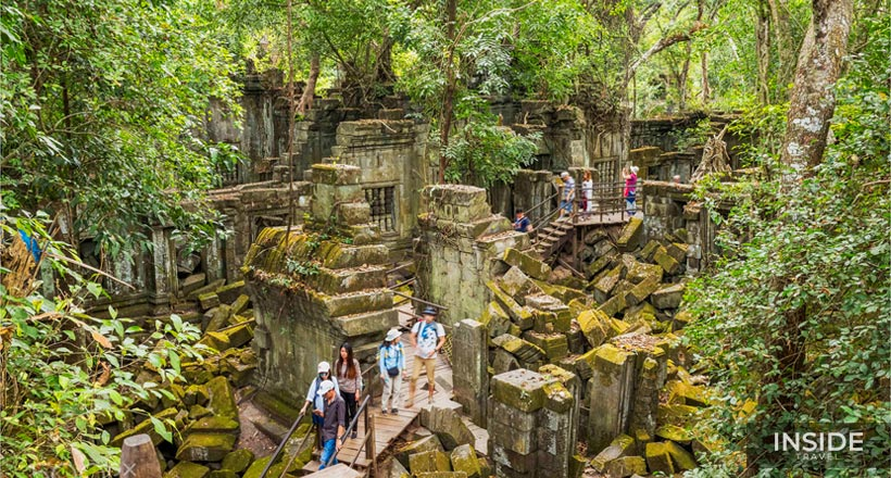 Charm of Phnom Kulen and Beng Mealea