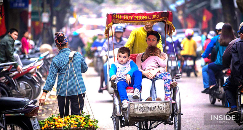 Cheerful Family Tour in Vietnam