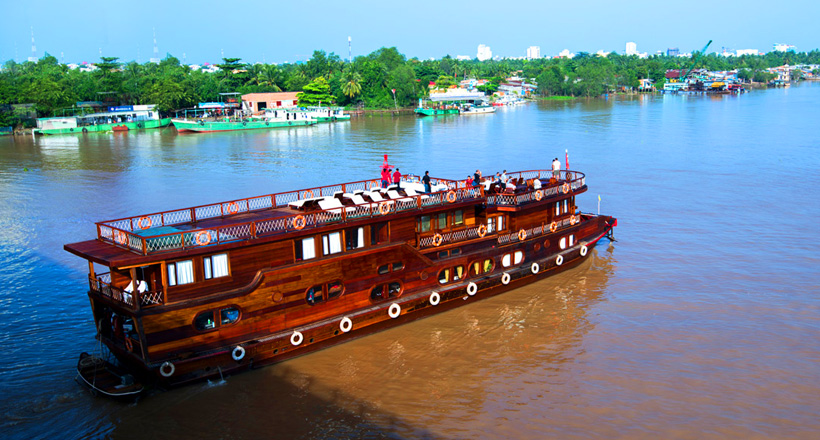 Fabulous cruise on Mekong River