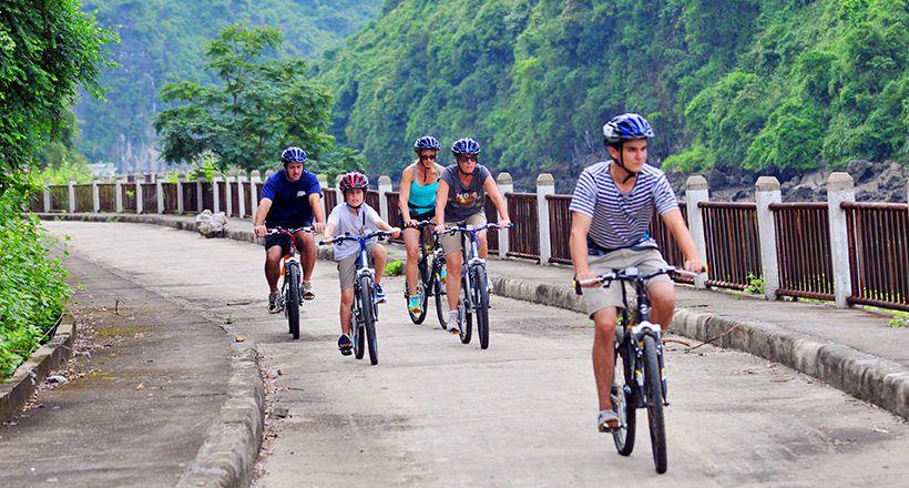 Biking From Hanoi to Halong Bay & Cat Ba Island