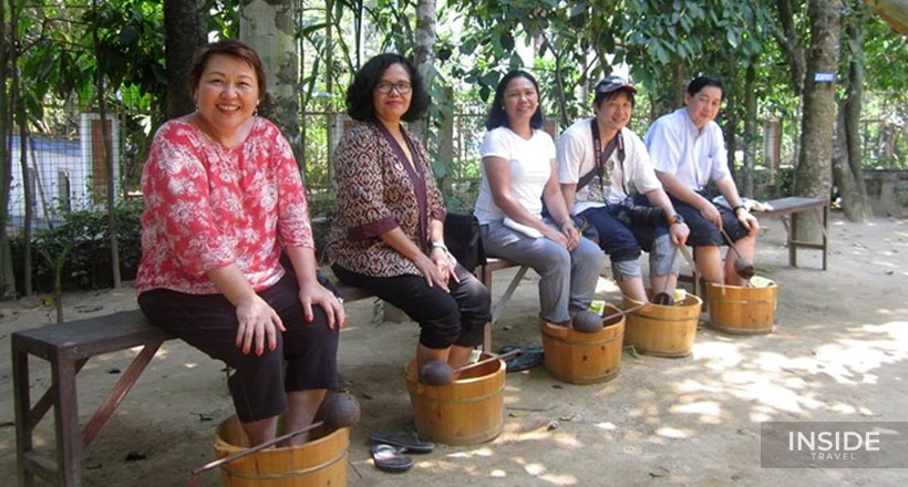 Discover Thuy Bieu Eco-Village by bicycle and boat