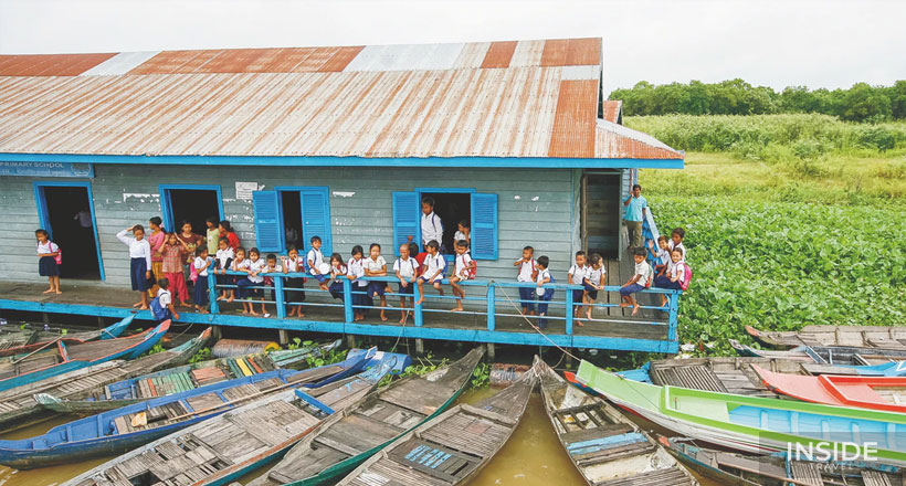 Picturesque Prek Toal Floating Village and Bird Sanctuary