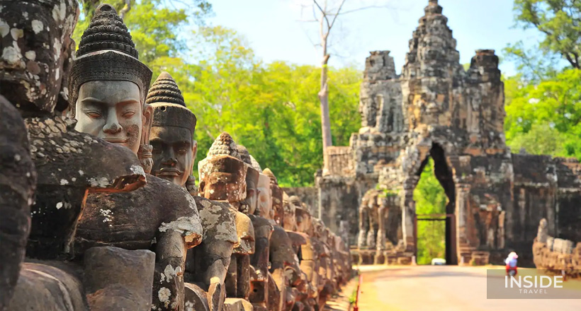 Glimpse of Angkor