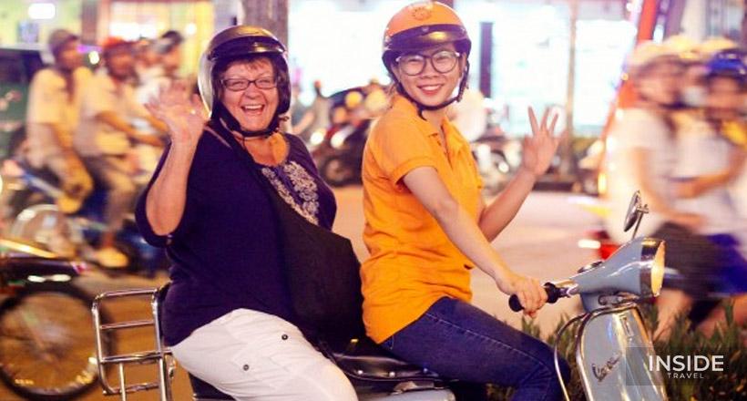 Streets & Eats of Saigon Vespa Adventures