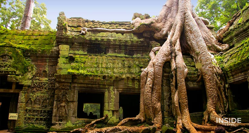 Trekking to Angkor Temples