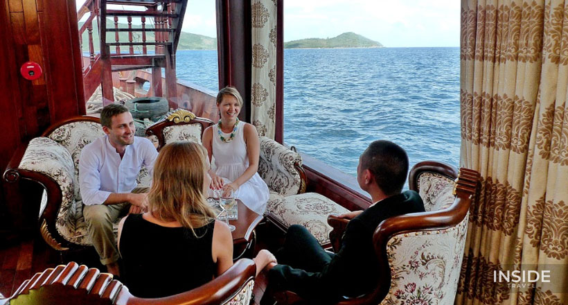 Sunset Cocktail & Dinner cruise on Nha Trang Bay
