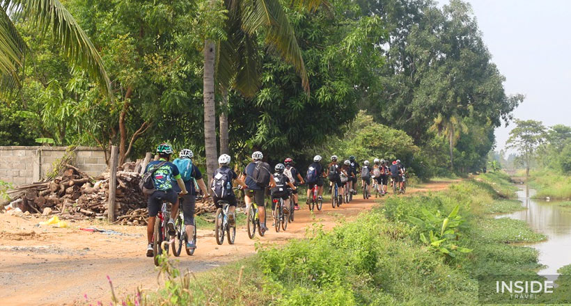 Cycling To The Killing Field & Royal Palace