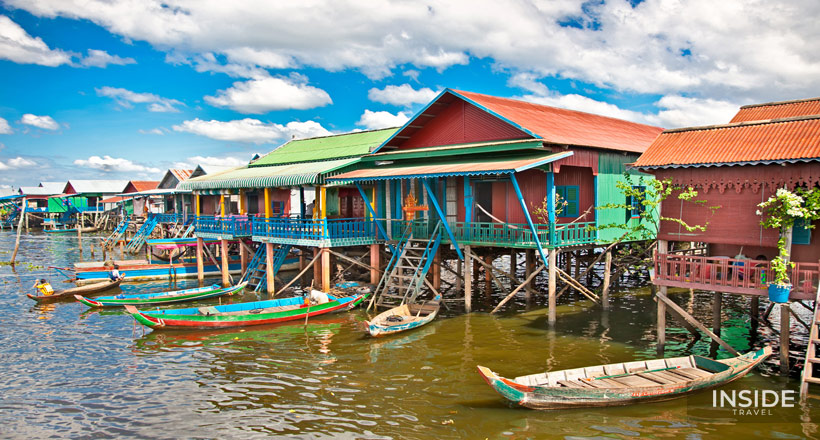 Local Interaction & Floating Village in Siem Reap