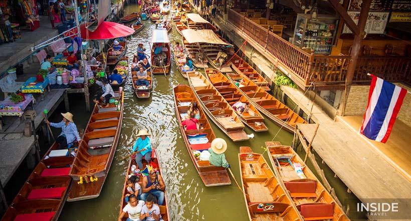 Full Day Trip Floating Market – Kanchanaburi