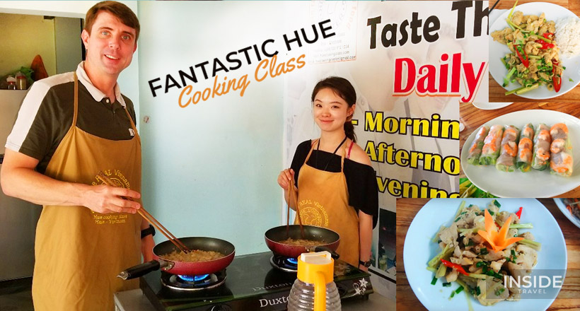 Great authentic Hue cooking class