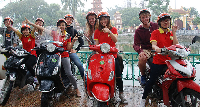 Hanoi Motorbike Adventure Day Tour
