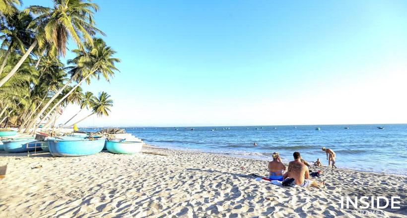 Southern Vietnam active beach break