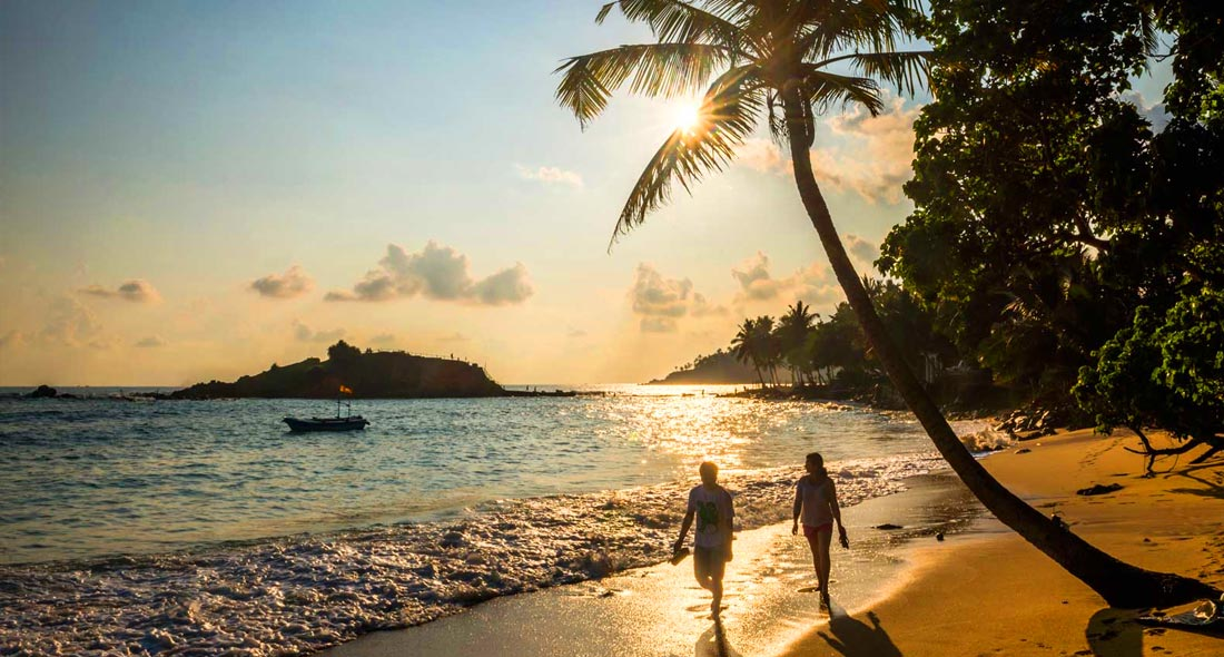 Sweet Honeymoon in Paradise Island Sri Lanka