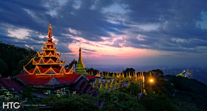 Find the bygone era of royal Mandalay