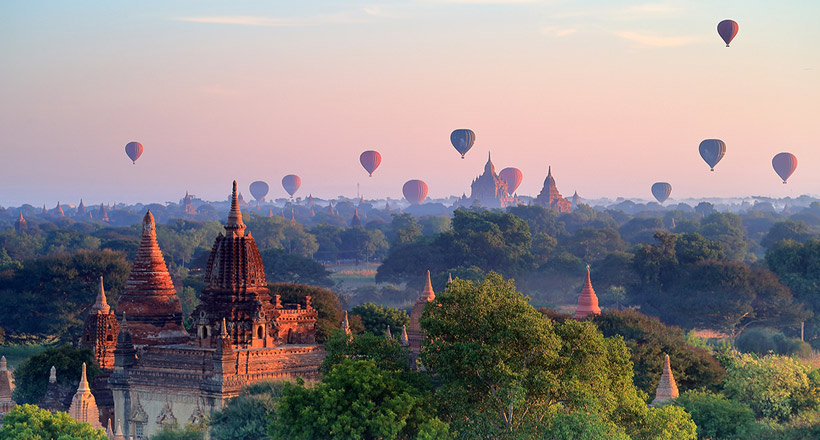 Colorful Myanmar with unique experiences