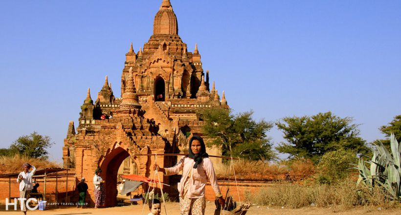 Ancient Bagan city tour