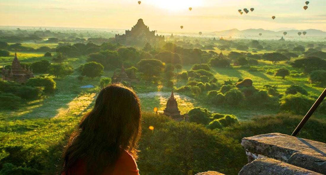 Ancient road from Yangon to Bagan