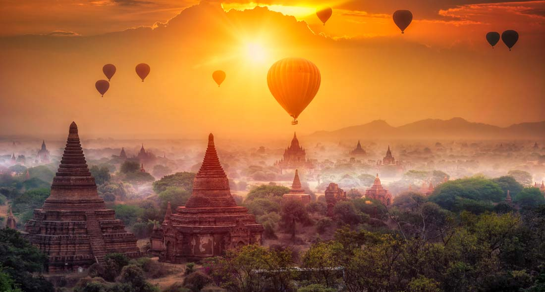 A glimpse of Myanmar's signature beauty