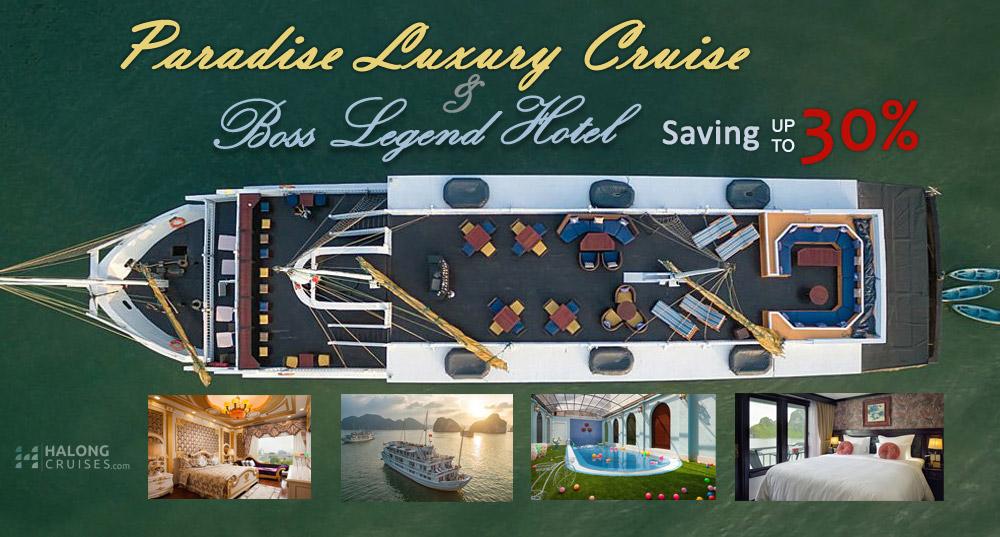 Best Value: Paradise Luxury Cruise + Boss Legend Hotel