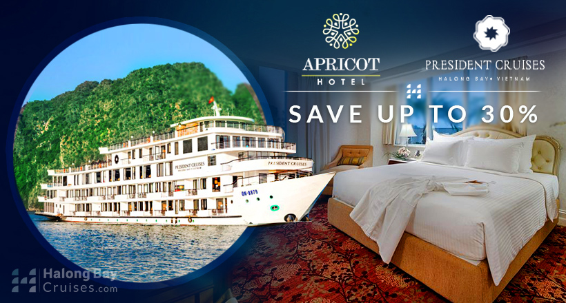 Special Choice: President Cruise + Apricot Hotel