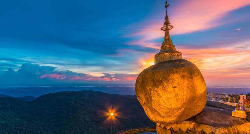Mini adventure to Golden Rock