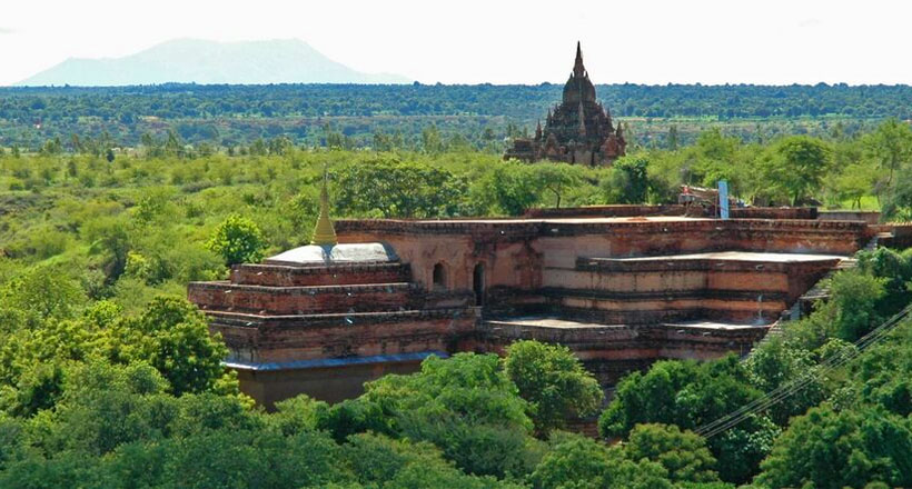 Ancient road from Yangon to Bagan