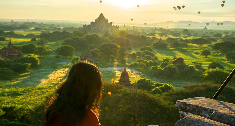 Bewitching land of Myanmar