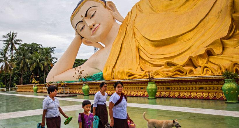 Epic journey to Kyaikhtiyo from Yangon