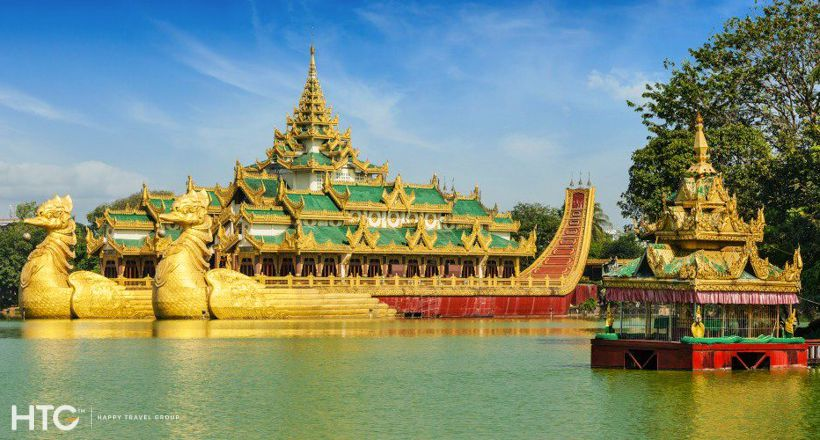 Yangon highlights in one day